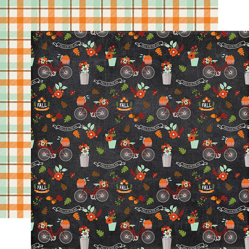 Echo Park - My Favorite Fall Collection - 12 x 12 Double Sided Paper - Fall Is In The Air