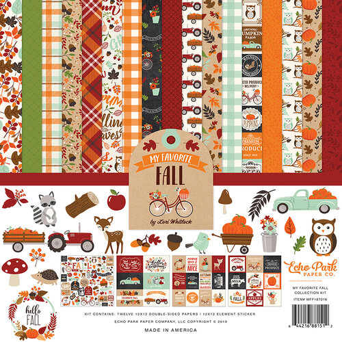 Echo Park - My Favorite Fall Collection - 12 x 12 Collection Kit