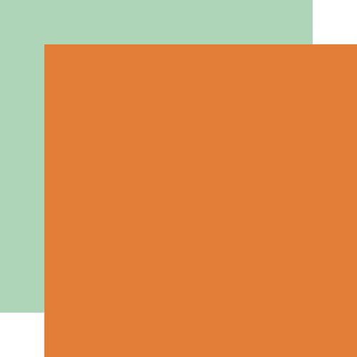Echo Park - My Favorite Fall Collection - 12 x 12 Double Sided Paper - Orange