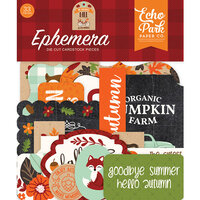 Echo Park - My Favorite Fall Collection - Ephemera