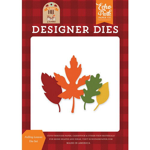 Echo Park - My Favorite Fall Collection - Designer Dies - Falling Leaves