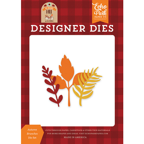 Echo Park - My Favorite Fall Collection - Designer Dies - Autumn Branches