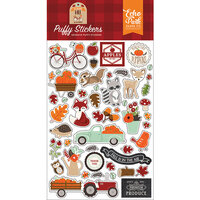 Echo Park - My Favorite Fall Collection - Puffy Stickers