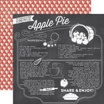 Echo Park - Made From Scratch Collection - 12 x 12 Double Sided Paper - Apple Pie
