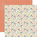 Echo Park - Made From Scratch Collection - 12 x 12 Double Sided Paper - Fruits and Veggies