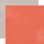 Echo Park - Made From Scratch Collection - 12 x 12 Double Sided Paper - Red
