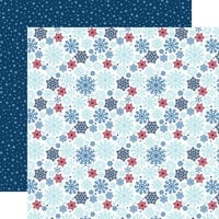 Echo Park - Christmas - My Favorite Winter Collection - 12 x 12 Double Sided Paper - Snow Much Fun