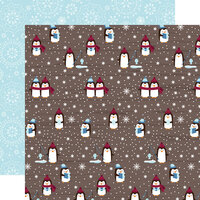 Echo Park - Christmas - My Favorite Winter Collection - 12 x 12 Double Sided Paper - Winter Activities