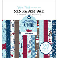 Echo Park - Christmas - My Favorite Winter Collection - 6 x 6 Paper Pad