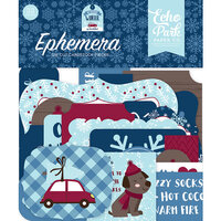 Echo Park - Christmas - My Favorite Winter Collection - Ephemera
