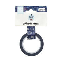 Echo Park - Christmas - My Favorite Winter Collection - Decorative Tape - Frosted Snowflakes