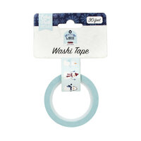 Echo Park - Christmas - My Favorite Winter Collection - Decorative Tape - Sweet Snowman