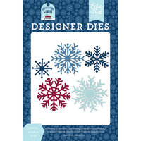 Echo Park - Christmas - My Favorite Winter Collection - Designer Dies - Sparkling Snowflakes