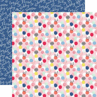 Echo Park - I am Mom Collection - 12 x 12 Double Sided Paper - Mom Boss