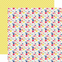 Echo Park - I am Mom Collection - 12 x 12 Double Sided Paper - Mini Floral