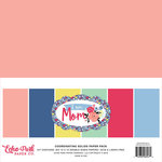 Echo Park - I am Mom Collection - 12 x 12 Paper Pack - Solids