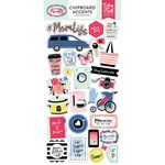 Echo Park - I am Mom Collection - Chipboard Stickers- Accents