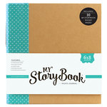 Echo Park - My StoryBook - 6 x 8 Photo Journal - Teal Dot
