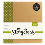 Echo Park - My StoryBook - 6 x 8 Photo Journal - Green Dot