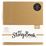 Echo Park - My StoryBook - 6 x 8 Photo Journal - Kraft Solid