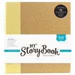 Echo Park - My StoryBook - 6 x 8 Photo Journal - Yellow Solid