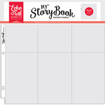 Echo Park - My StoryBook - 12 x 12 Pocket Page - 4 x 6 Vertical Pockets - 10 Pack
