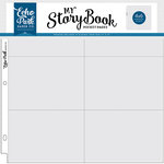 Echo Park - My StoryBook - 12 x 12 Pocket Page - 4 x 6 Horizontal Pockets - 10 Pack