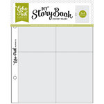 Echo Park - My StoryBook - 6 x 8 Pocket Page - 3 x 4 Pockets - 10 Pack