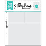 Echo Park - My StoryBook - 6 x 8 Pocket Page - 4 x 6 and 3 x 4 Pockets - 10 Pack