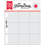 Echo Park - My StoryBook - 6 x 8 Pocket Page - 2 x 2 Pockets - 10 Pack