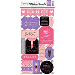 Echo Park - Ballet Collection - Cardstock Stickers