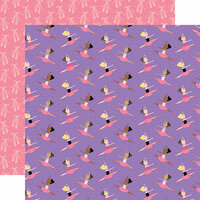 Echo Park - Ballet Collection - 12 x 12 Double Sided Paper - Ballerinas