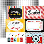 Echo Park - Magic and Wonder Collection - 12 x 12 Double Sided Paper - 4 x 6 Journaling Cards