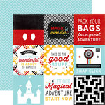 Echo Park - Magic and Wonder Collection - 12 x 12 Double Sided Paper - 4 x 4 Journaling Cards