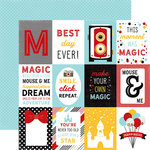 Echo Park - Magic and Wonder Collection - 12 x 12 Double Sided Paper - 3 x 4 Journaling Cards