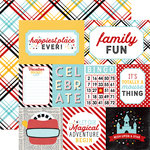 Echo Park - Magic and Wonder Collection - 12 x 12 Double Sided Paper - Multi Journaling Cards