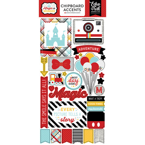 Echo Park - Magic and Wonder Collection - Chipboard Stickers