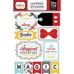 Echo Park - Magic and Wonder Collection - Layered Cardstock Stickers