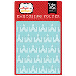 Echo Park - Magic and Wonder Collection - Embossing Folder - Magical Castles