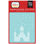 Echo Park - Magic and Wonder Collection - Embossing Folder - Starry Castle