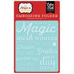 Echo Park - Magic and Wonder Collection - Embossing Folder - Wish Upon a Star