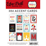 Echo Park - Magic and Wonder Collection - 3 x 4 Pocket Page Cards
