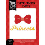 Echo Park - Magic and Wonder Collection - Deisgner Dies - Princess Bow