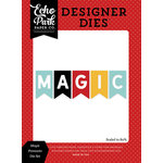 Echo Park - Magic and Wonder Collection - Deisgner Dies - Magic Pennants