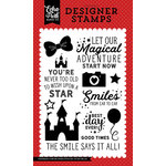 Echo Park - Magic and Wonder Collection - Clear Acrylic Stamps - Smiles from Ear to Ear