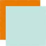 Echo Park - Meow Collection - 12 x 12 Double Sided Paper - Light Blue