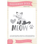 Echo Park - Meow Collection - Designer Dies - Cat's Meow