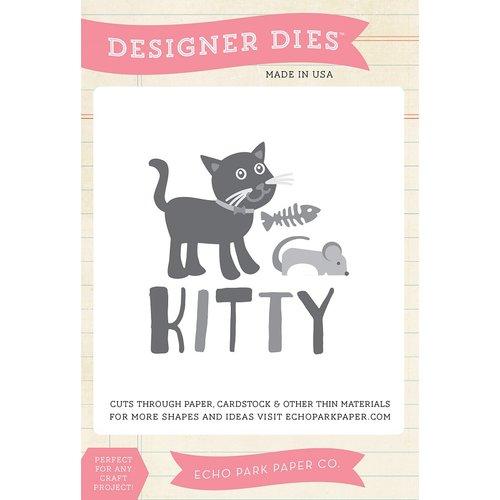 Echo Park - Meow Collection - Designer Dies - Kitty