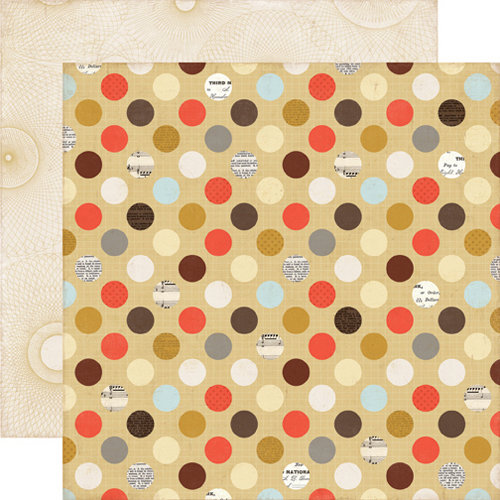 Echo Park - Note to Self Collection - 12 x 12 Double Sided Paper - Grid Dots