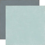 Echo Park - Note to Self Collection - 12 x 12 Double Sided Paper - Blue